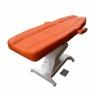 Косметологическое кресло «ОНДЕВИ-1» прямыми подлокотниками  с педалью управления
